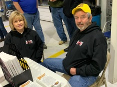 Hartwell Speedway owners Joyce and Marty Lance were on hand.